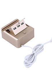 3USB 고속 안전하고 효율적인 휴대 전화 충전 스탠드 whirldy의 RNAi-801의 USB 충전기