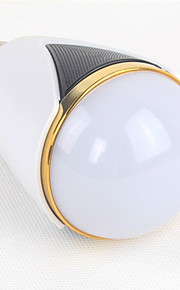 1個 无 E26/E27 5 W 1 集積LED 40-150 LM 変色 G 明るさ調整 / Bluetooth LEDスマート電球 AC 100-240 V