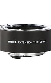 Kooka kk-P25 AF (25mm) forlængerrør indstillet for PENTAX DSLR og k-01 kameraer