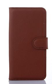 moda in pelle capovolgere caso della copertura del portafoglio resistente allo sporco per Samsung Galaxy S6 bordo + / S6 bordo / S6 / s5 /
