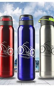 500ML Outdoor Sports Green Portable Water Bottle