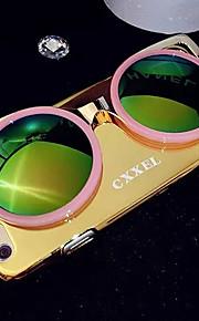 lady®elegant / personlighed telefon sag / cover til iPhone 6 / 6s (4.7), med metal materiale og flere farver