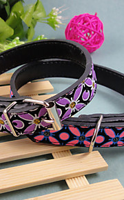 Kaulapannat - PU Leather - Leopardi - Pinkki / Violetti - Koirat -