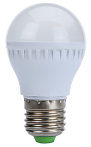 글로브 전구를 주도 hry® 3w E27 10xsmd2835 250lm 따뜻한 / 차가운 백색 전구 (220V)