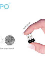 wifi portatile e ap esterno mini usb rete wireless ricevente scheda trasmettitore Zapo W4