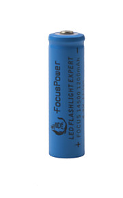 Focus Power 4.2V Rechargeable 1200mAh 14500 Lithium Ion Battery