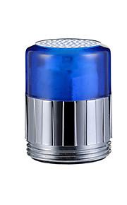 fargerik kjøkkenbenken universell adapter ledet tappekran dyse (automatisk fargeendring)