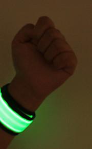 LED Safety Slap Armband Cycling Jogging Walking Reflective LED Armband