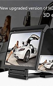 mobiltelefon skärm 3d hd videoskärm förstärkare förstärkare / skatt 3d läskamera fäste