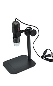 ensino de pesquisa experimental sobre têxtil 500 x usb microscópio para observar a câmera de vídeo de teste de impressão de pele