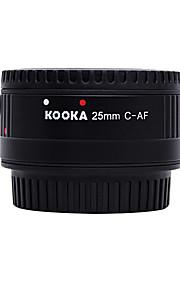 kooka kk-c25p nilon macro af 25 milímetros tubo de extensão de plástico para Canon EF&câmeras SLR EF-S