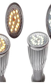 E14 6W LED Spotlight Lighting 15x5730SMD Warm White (3000-3500K)  Silver(Assorted-color)
