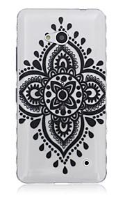 caso suerte teléfono material de TPU patrón de flores para Nokia N640