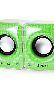 2 kpl laadukkaita M20 multimediakaiutin laptop / puhelin / MP3 / MP4