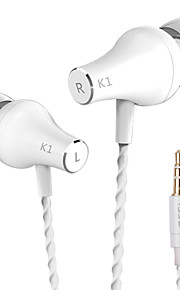 k1 vjjb originais aparelhagem hi-fi stereo headset ruído baixo isolamento do monitor terceira frequência fones de ouvido para 6s iphone