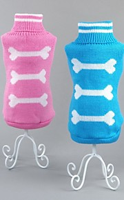 FUN OF PETS® Lovely Bone Pattern Dogs Sweater for Pets Puppy Dogs(Assorted Sizes and Colours)