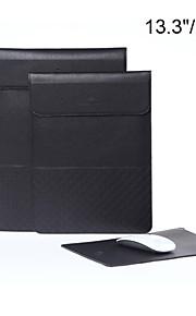 lodret stil lichee korn kuvert tablet og laptop sleeve taske cover til MacBook Air / pro retina 13,3 / 15,4