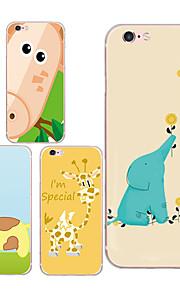 maycari®cute Giraffen tpu zurück Fall für iPhone 6 / iphone 6s (verschiedene Farben)