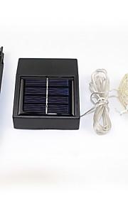 100led solcelledrevet streng lyser stjerne sølv kobbertråd fairy stemning for utendørs hager boliger Christmas Party