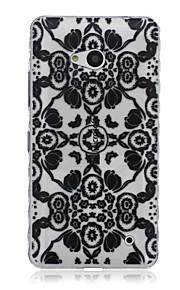 patrón de amapolas caja del teléfono del tpu material para Nokia N640