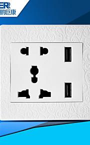 usb opladen socket goed (gesneden wit)
