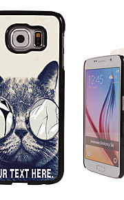 Personalized Case - Lecherous Cat Design  Metal Case for Samsung Galaxy S6/ S6 edge/ note 5/ A8 and others