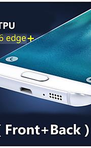3d copertura completa ad alta definizione tpu evitare graffi protezione dello schermo per Samsung Galaxy S6 bordo più (front + back)