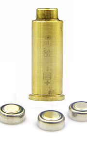 Point 38 Cartridge Bore Sighter Red Dot Laser Boresighter Sight Hunting Copper