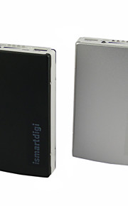 ismartdigi MPSB-20000 15000mAh Power Bank for iphone 6S/6/6plus/5S/5 Samsung S6/5 and other Mobile Devices(Black/Silver)