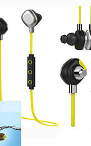 IPX7 fones de ouvido bluetooth esporte impermeável fones de ouvido, 10 horas fone de ouvido com microfone sem fio esporte para iphone 6 6s
