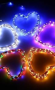 konge ro solar 39ft 100led juletre innredning lys utendørs vanntett kobbertråd lys