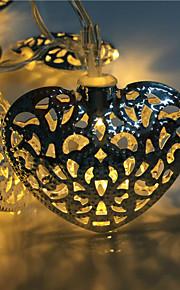 hul ut 10 lampe, smijern kjærlighet to batterikassen av lampe serie
