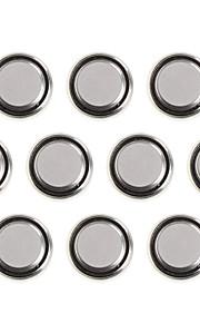 ssuo AG4 / 377a / cx177 / lr626w 1.55V alkaline cel knop batterijen (10 stuks)