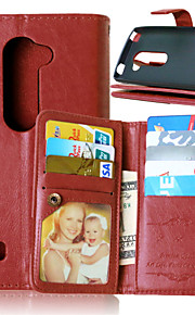 Luxury PU Leather Flip Cover 9 Card Holders Wallet Case For LG LEON 4G LTE C40 (Assorted Colors)