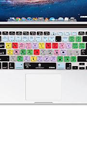 XSKN Adobe Illustrator Shortcuts Keyboard Skin Silicone for MacBook Air 13, MacBook Pro Retina 13/15/17 , US / EU Layout