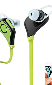 אוזניות Bluetooth ספורט עמיד למים ipx4 אוזניות 10 שעות אוזניות ספורט אלחוטיות עם מיקרופון לסמסונג S6 S5 S4