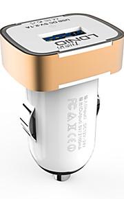 caricatore dell'automobile ldnio USB per iPhone / Samsung e l'altro cellulare (5v 2.1a)