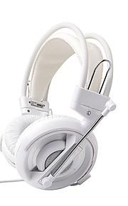 -e azul série cobra headset gaming profissional
