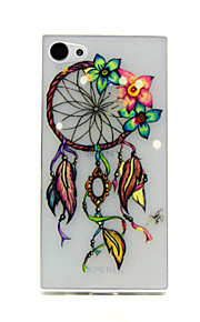 dreamcatcher relief motif de TPU de couverture pour Sony z5mini