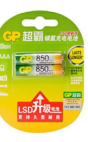 gp 850mAh 1.5V aaa ev piller 2adet