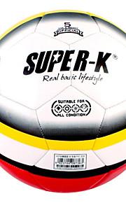 SUPER-K® 5# Machine Sttched PVC Soccer Ball