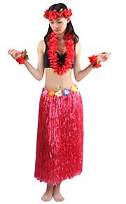 Carnaval - para Unisex - Disfraces Burlesques - Disfraces - Vestido / Tocados / Pulsera / Collar -