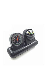 Fulang Vehicle-Mounted Compass Auto - Accessories 2 in 1 Compass  CP16
