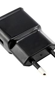 caricatore da muro la spina CA di UE con 100 centimetri cavo micro USB per Samsung S6 / S4 / S3 / s2 e altri