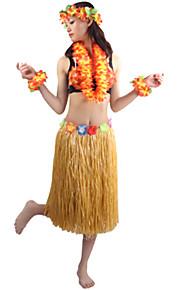 Carnaval - para Unisex - Disfraces Burlesques - Disfraces - Vestido / Tocados / Sujetadores / Pulsera / Collar -