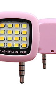 rk05 kold og varm belysning telefon sync flash (assorteret farve)