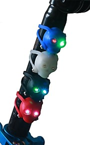 3-mode Skull  Bicycle Rear/Tail Light Cycling Warning Light Random Colors