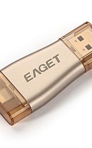 Eaget 64gb i50 para USB 3.0 OTG iphone unidades flash expansión de la capacidad del 100% para el iPhone / iPad / iPod, impulsión de la