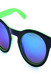 Solbriller Unisex's Klassisk / Retro/vintage Katøje Hvid / Gul / Grøn Solbriller / Briller Full-Rim