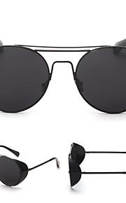 Solbriller kvinder's Retro/vintage / Mode Rund Sort / Sølv / Guld Solbriller Full-Rim